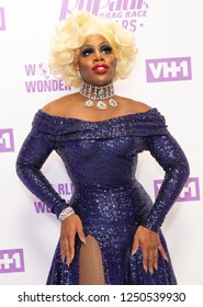 New York, NY - December 5, 2018: Monet X Change attends Meet the Queens of RuPaul's Drag Race All Stars by VH1 at TRL Studios