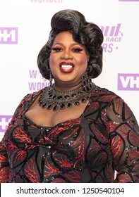 New York, NY - December 5, 2018: Latrice Royale attends Meet the Queens of RuPaul's Drag Race All Stars by VH1 at TRL Studios