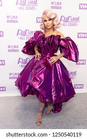 New York, NY - December 5, 2018: Trinity Taylor attends Meet the Queens of RuPaul's Drag Race All Stars by VH1 at TRL Studios