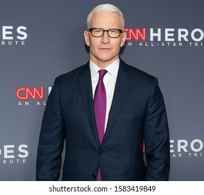 New York, NY - December 8, 2019: Anderson Cooper attends the 13th Annual CNN Heroes at the American Museum of Natural History