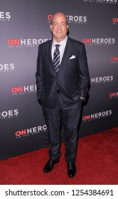 New York, NY - December 9, 2018: President of CNN Jeff Zucker attends the 12th Annual CNN Heroes: An All-Star Tribute at American Museum of Natural History