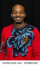 New York, NY - February 17, 2018: Brandon Victor Dixon attends Jesus Christ Superstar Live in Concert Press Junket at Church of St. Paul the Apostle produced by NBC