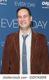 New York, NY - February 20, 2018: David Levithan attends Every Day special screening at Metrograph