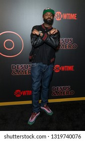 New York, NY - February 21, 2019: Desus Nice attends Showtime debut of Late-Night Series DESUS & MERO at the Clocktower New York Edition