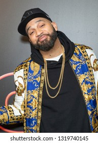 New York, NY - February 21, 2019: The Kid Mero attends Showtime debut of Late-Night Series DESUS & MERO at the Clocktower New York Edition