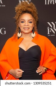 New York, NY - February 6, 2019: Ruth Carter attends IMG and Harlem Fashion Row Host Next Of Kin: An Evening Honoring Ruth Carter at Spring Studios