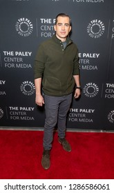 New York, NY - January 16, 2019: Callahan Walsh attends In Pursuit With John Walsh Screening & Conversation at The Paley Center for Media