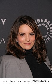 NEW YORK, NY - JANUARY 24: Tina Fey attends Kimmy Goes To The Paley Center: A Celebration Of 'Unbreakable Kimmy Schmidt' at Paley Center For Media on January 24, 2019 in New York City.