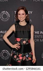 NEW YORK, NY - JANUARY 24: Ellie Kemper attends Kimmy Goes To The Paley Center: A Celebration Of 'Unbreakable Kimmy Schmidt' at Paley Center For Media on January 24, 2019 in New York City.