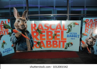 New York, NY - January 28, 2018: Set for Columbia Pictures and Sony Pictures Animation Present The New York Influencer Screening of Peter Rabbit at Regal Cinema Battery Park