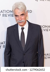 New York, NY - January 8, 2019: Sam Elliott attends National Board of Review 2019 Gala at Cipriani 42nd street