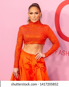 New York, NY - June 03, 2019: Jennifer Lopez attends 2019 CFDA Fashion Awards at Brooklyn Museum