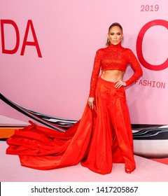 New York, NY - June 03, 2019: Jennifer Lopez attends 2019 CFDA Fashion Awards at Brooklyn Museum