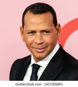 New York, NY - June 03, 2019: Alex Rodriguez attends 2019 CFDA Fashion Awards at Brooklyn Museum