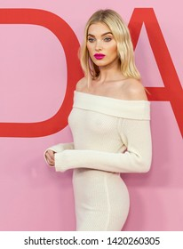 New York, NY - June 03, 2019: Elsa Hosk attends 2019 CFDA Fashion Awards at Brooklyn Museum