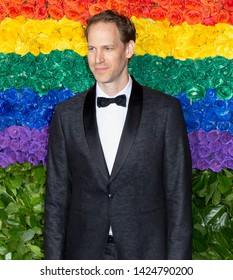 New York, NY - June 09, 2019: Aaron Tveit attends the 73rd Annual Tony Awards at Radio City Music Hall