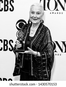 New York, NY - June 09, 2019: Rosemary Harris - Special Tony Award for Lifetime Achievement in the Theatre  poses in the press room for the 73rd Annual Tony Awards