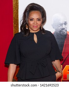New York, NY - June 10, 2019: Luna Lauren Velez attends the Shaft Premiere at AMC Lincoln Square Theater