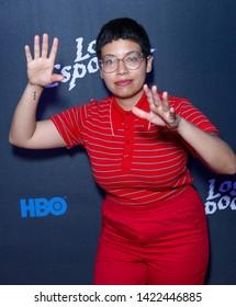 New York, NY - June 10, 2019: Lorelei Ramirez attends Los Spookys by HBO special screening at Angel Oransanz
