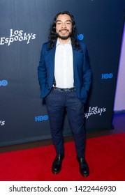 New York, NY - June 10, 2019: Bernardo Velasco attends Los Espookys by HBO special screening at Angel Oransanz