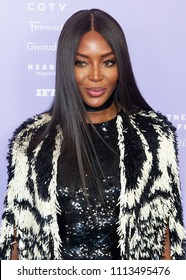 New York, NY - June 12, 2018: Naomi Campbell attends 2018 Fragrance Foundation Awards at Alice Tully Hall at Lincoln Center