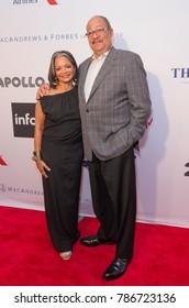 New York, NY - June 12, 2017: Jonelle Procope, Richard Parsons attend the Apollo Spring Gala 2017 at The Apollo Theater