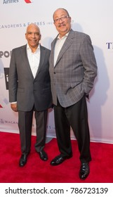 New York, NY - June 12, 2017: Stan Lathan, Richard Parsons attend the Apollo Spring Gala 2017 at The Apollo Theater