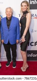 New York, NY - June 12, 2017: Robert Kraft, Cortney O�Connor attend the Apollo Spring Gala 2017 at The Apollo Theater