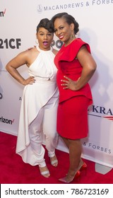 New York, NY - June 12, 2017: We McDonlad, Kamilah Forbes attend the Apollo Spring Gala 2017 at The Apollo Theater