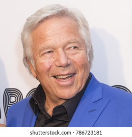 New York, NY - June 12, 2017: Robert Kraft attends the Apollo Spring Gala 2017 at The Apollo Theater