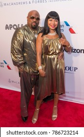New York, NY - June 12, 2017: CeeLo Green, Shani James attend the Apollo Spring Gala 2017 at The Apollo Theater