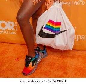 New York, NY - June 17, 2019: Azya attends 2019 TrevorLIVE New York Gala for The Trevor Project at Cipriani Wall Street