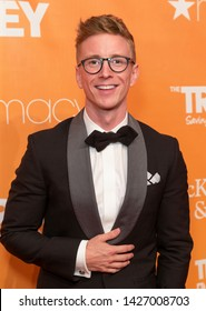 New York, NY - June 17, 2019: Tyler Oakley attends 2019 TrevorLIVE New York Gala for The Trevor Project at Cipriani Wall Street