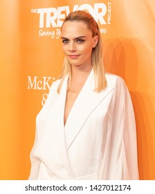New York, NY - June 17, 2019: Cara Delevingne attends 2019 TrevorLIVE New York Gala for The Trevor Project at Cipriani Wall Street