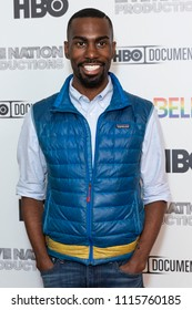 New York, NY - June 18, 2018: Deray McKesson attends HBO documentary premiere at Metrograph