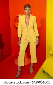 New York, NY - June 18, 2019: Sofia Richie attends the Summer Kickoff Party for WorldPride hosted by Alice + Olivia by Stacey Bendet and the Trevor Project at Industria Studio