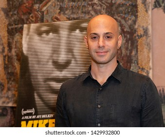 New York, NY - June 20, 2019: Avi Belkin attends screening of documentary Mike Wallace Is Here at The Whitby Hotel
