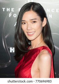 New York, NY - June 2016: Tao Okamoto attends 2016 Fragrance Foundation Awards at Lincoln Center
