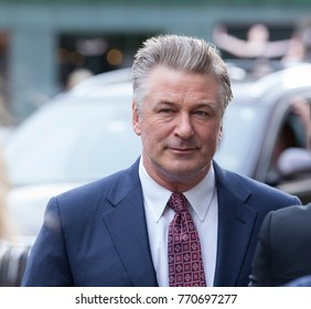 New York, NY - June 2016: Alec Baldwin attends 2016 Fragrance Foundation Awards at Lincoln Center