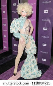 New York, NY - June 21, 2018: Aquaria attends VH1 Trailblazer Honors 2018 at The Cathedral of St. John the Divine
