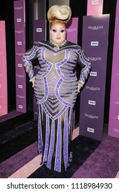 New York, NY - June 21, 2018: Eureka O'Hara attends VH1 Trailblazer Honors 2018 at The Cathedral of St. John the Divine