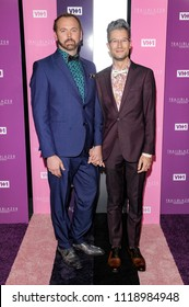 New York, NY - June 21, 2018: Charlie Craig and David Mullins attend VH1 Trailblazer Honors 2018 at The Cathedral of St. John the Divine