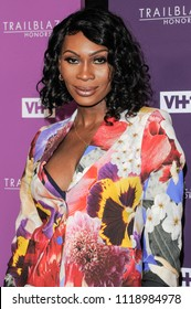 New York, NY - June 21, 2018: Dominique Jackson attends VH1 Trailblazer Honors 2018 at The Cathedral of St. John the Divine