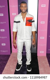 New York, NY - June 21, 2018: Dyllon Burnside attends VH1 Trailblazer Honors 2018 at The Cathedral of St. John the Divine