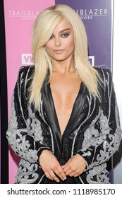 New York, NY - June 21, 2018: Bebe Rexha attends VH1 Trailblazer Honors 2018 at The Cathedral of St. John the Divine