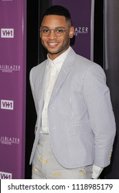 New York, NY - June 21, 2018: Ryan Jamaal Swain attends VH1 Trailblazer Honors 2018 at The Cathedral of St. John the Divine