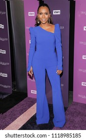 New York, NY - June 21, 2018: Janet Mock attends VH1 Trailblazer Honors 2018 at The Cathedral of St. John the Divine