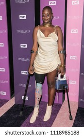 New York, NY - June 21, 2018: Mama Cax attends VH1 Trailblazer Honors 2018 at The Cathedral of St. John the Divine