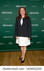 """NEW YORK, NY - JUNE 24: Maria Fernanda Espinosa Garces attends the """"Aruanas"""" New York premiere at The Angelika Film Centre on June 24, 2019 in New York City."""