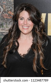 New York, NY - June 27, 2018: Monica Lewinsky attends Whitney New York Screening at the Whitby Hotel